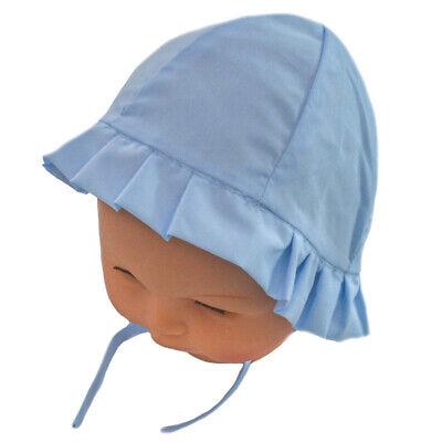 Espressive Bonnet Chapeau De Soleil Ete Naissance Bebe / Enfant Garcon Bleu