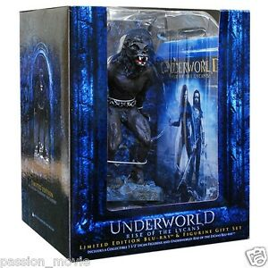 Underworld-Rise-of-the-Lycans-Limited-Edition-Figurine-Blu-ray-BRAND-NEW