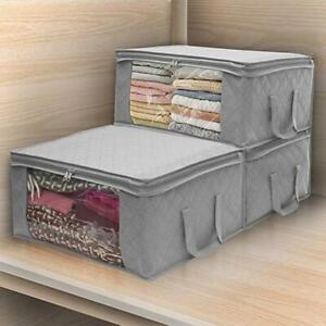 Folding-Storage-Box-Quilt-Storage-Bag-Wardrobe-Clothing-Storage-Box-Dustproof