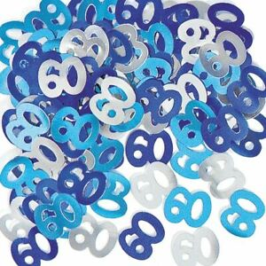 SHATCHI Scatter 14g 30th Blue Happy Birthday Party Glitz Table Confetti Sprinkles Decorations