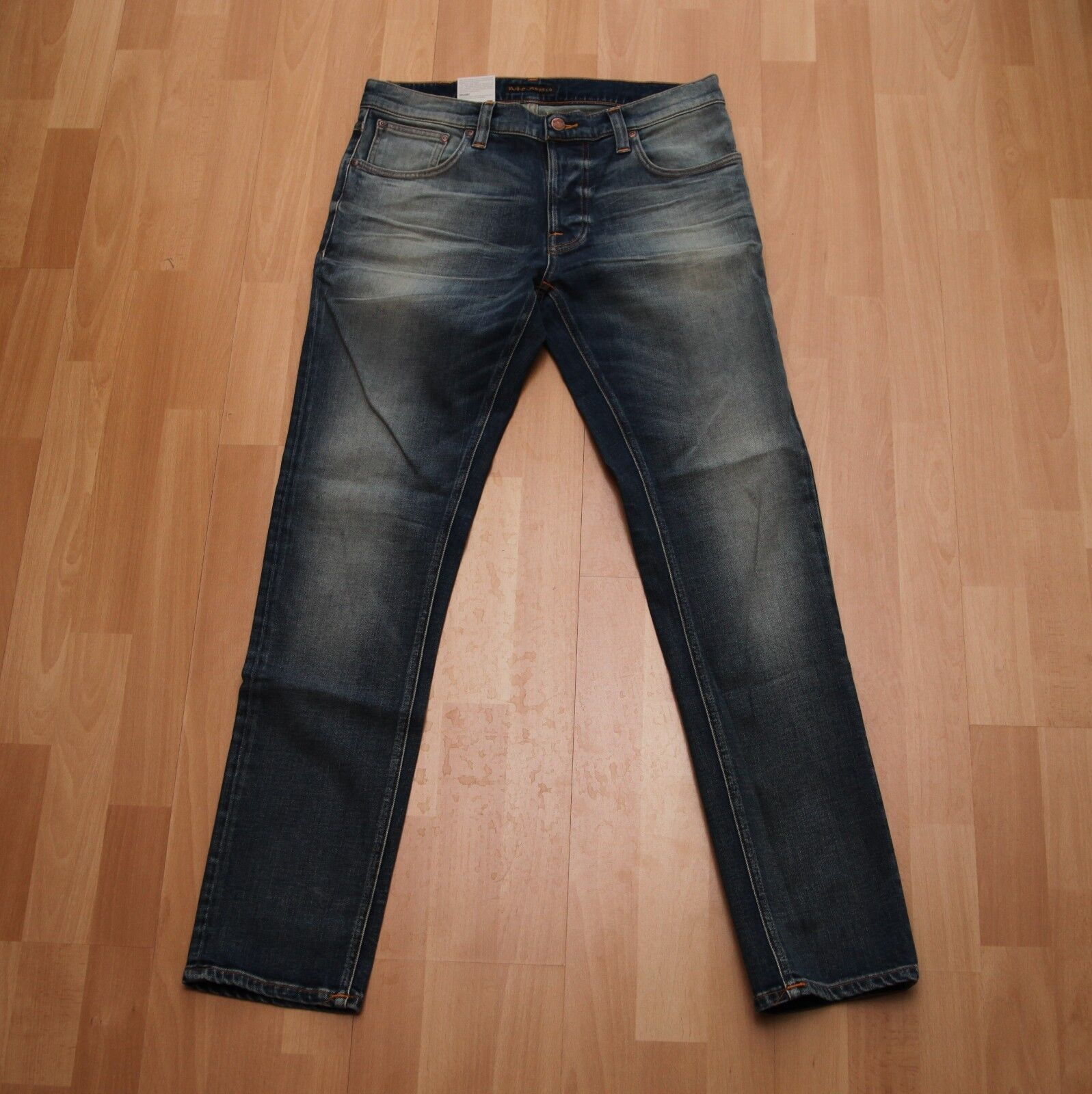 NEU Nudie Jeans TILTED TOR (Tight Fit) bluee Pagan 32 32