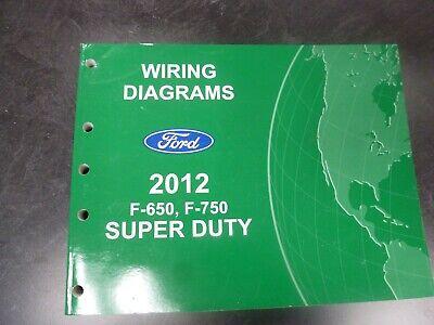 2006 ford f750 ignition wiring diagram 2012 ford f650 f750 super duty truck electrical wiring diagrams  2012 ford f650 f750 super duty truck