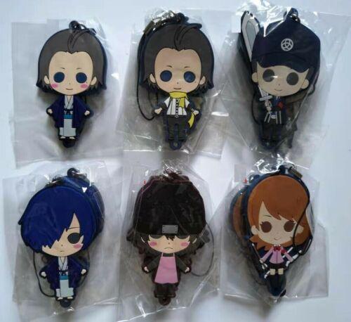 Japan Anime PERSONA 3 The Movie P3 Rubber Strap Charm Keychain Keyring Gift Yuki