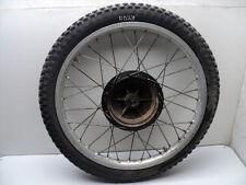 #4023 Yamaha DT400 DT 400 Enduro Aluminum Front Wheel & Tire