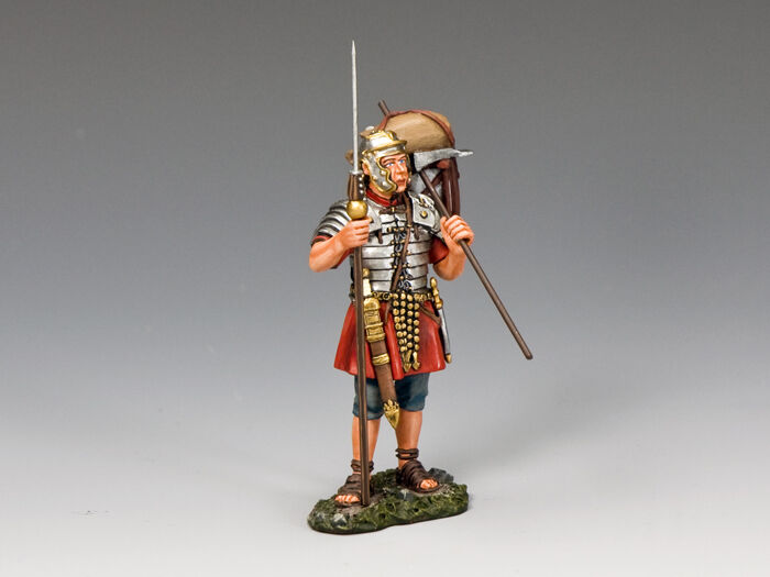 King and Country Standing Legionary w Marius Mule ROM011