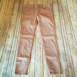 American-Eagle-Size-6-Super-Stretch-Jegging-Skinny-Jeans-Pink-Mauve-Womens