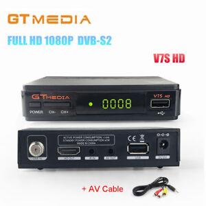 GTMedia V7S HD 1080P FHD DVB-S2 Satellite TV Receiver,PowerVu