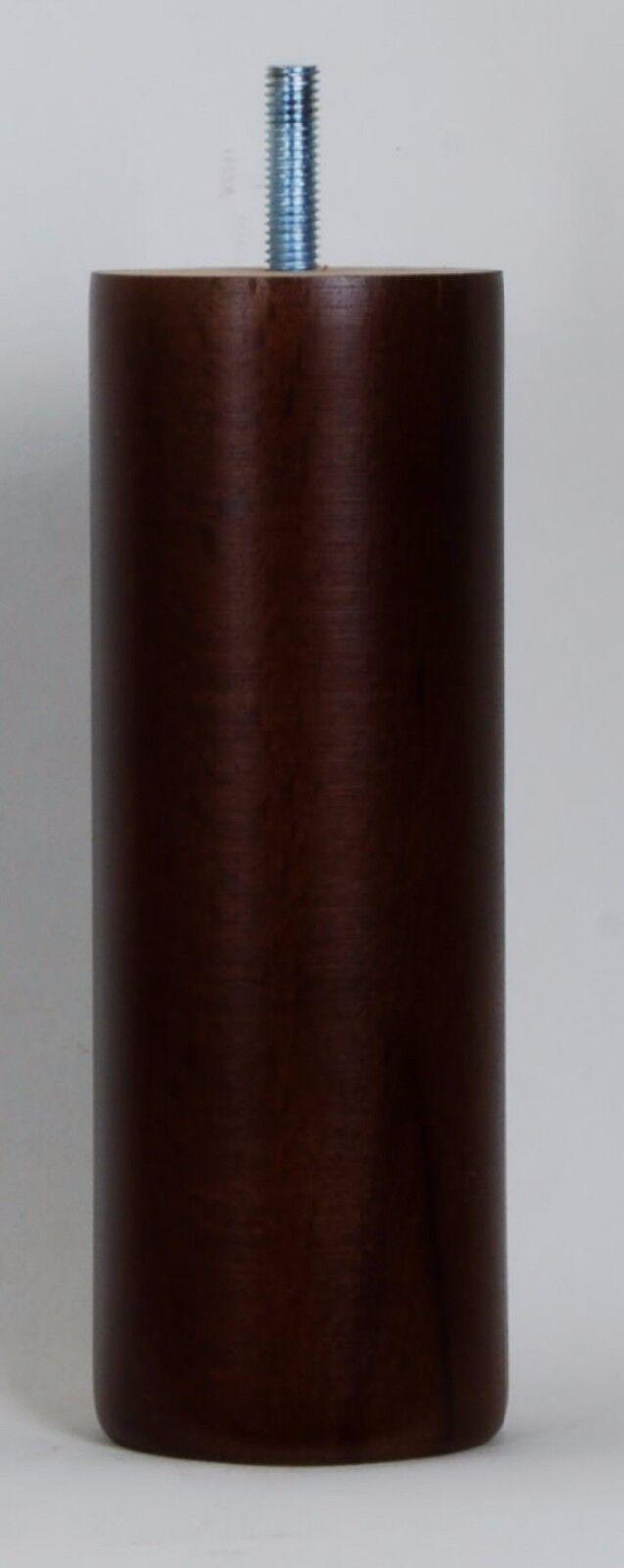 12 WOODEN SOFA LEGS E648-M with 35mm LONG DOWEL SCREWS, Footstool LEGS 160mm