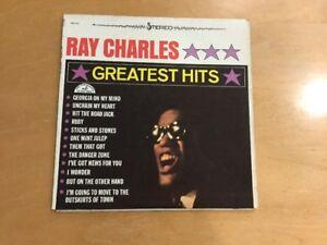 Ray-Charles-Greatest-Hits-1962-Vinyl-LP-Record-Album-Blues-R-amp-B-Soul-ABCS-415-VG