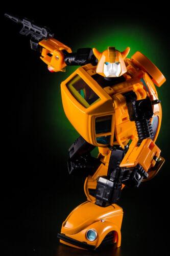 "KBB Beetle MP21 Bumblebee Deformed Toy 7/"" Metal Diecast Action Figure in stock"