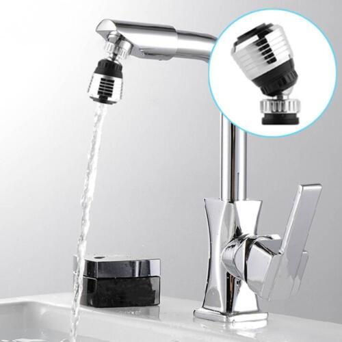 Drehen Sie Wassersparhahn Wasserhahn Düse Belüfter Diffusor Adapter HOT