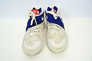 sale retailer 0d033 4a82a Details about NIKE Kyrie 2 GS White Cobalt Blue Duke Size 7Y Basketball  Shoes 826673-164