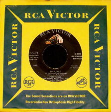 "PERRY COMO ""MOON TALK/Beats There A Heart So..."" RCA VICTOR 47-7274 (1958) 45rpm"