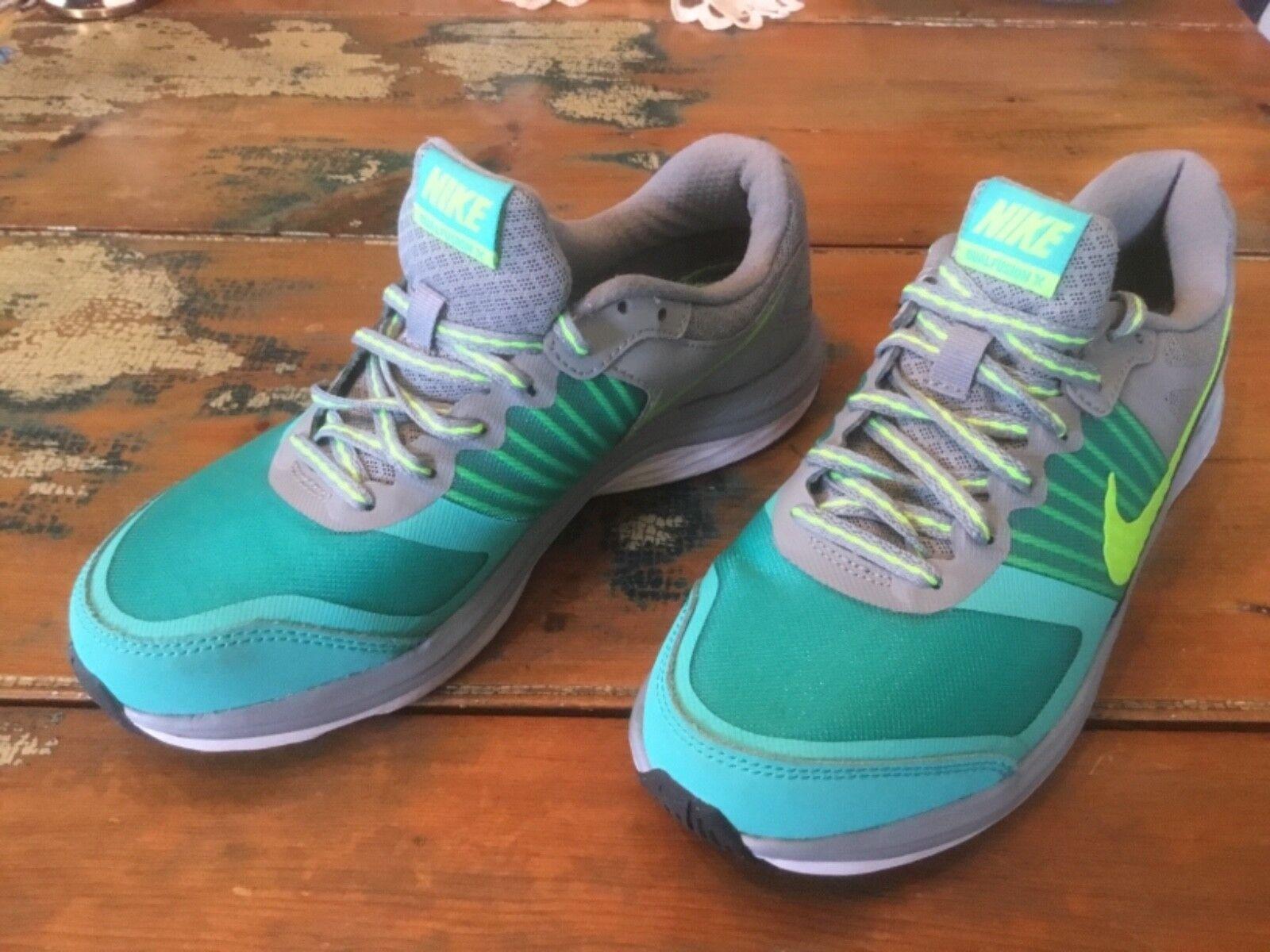 donne donne donne nike doppia fusione x 709501 004 grigio - verde lime scarpe taglia 7,5 diseconda mano | Funzionalità eccellenti  | vendita di liquidazione  | Sito Ufficiale  | Scolaro/Ragazze Scarpa  | Uomo/Donne Scarpa  77d1ab