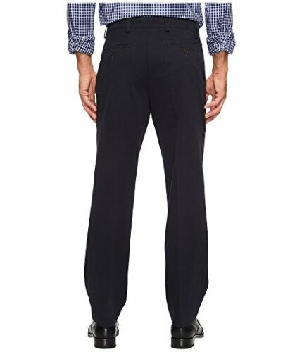 Classic Fit NWT! Big /& Tall 41443-8118 Dockers Original Navy Pleated Pant