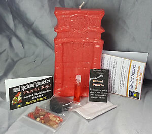 """RITUAL """"PUERTA ROJA"""" OBSTACULOS AMOR / """"RED DOOR"""" OBSTACLES IN LOVE SPELL WICCA"""
