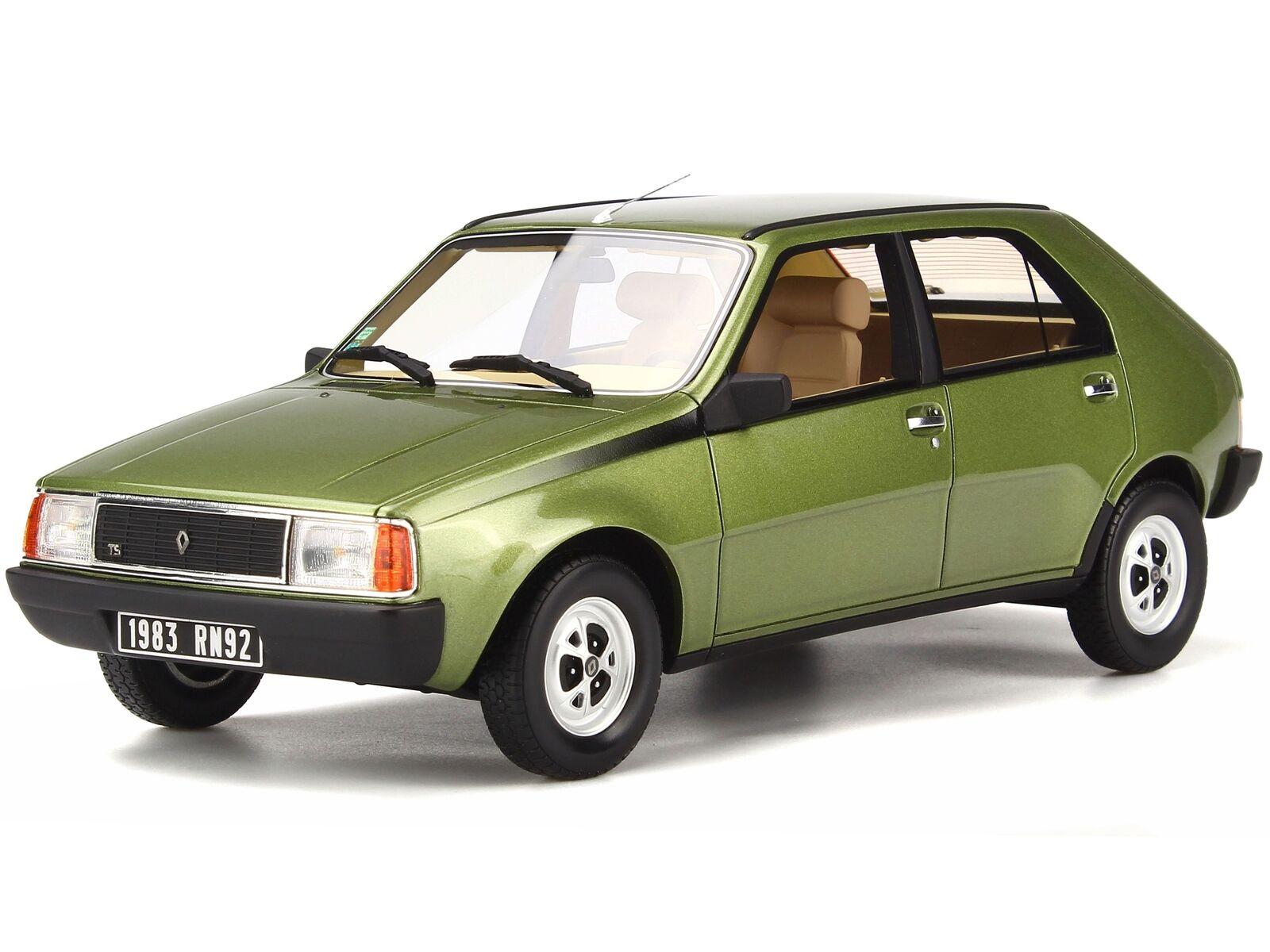 Renault 14 R14 TS 1983 verde mousse 917 coche en miniatura OT712 Otto 1 18