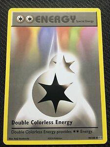Pokemon-XY-EVOLUTIONS-4-X-DOUBLE-COLORLESS-ENERGY-90-108-UNCOMMON