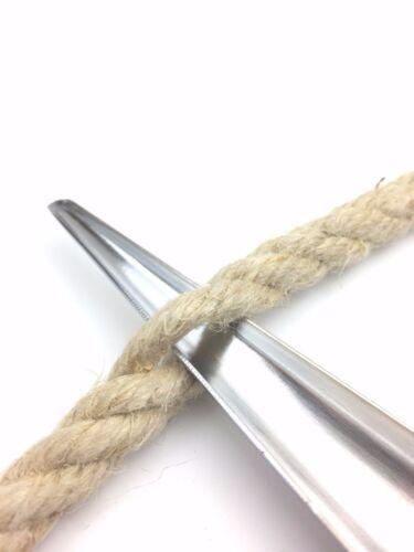 2 Tailles Corde Jointes 3 Brins Acier Inoxydable Suédois Épissure Épissoir