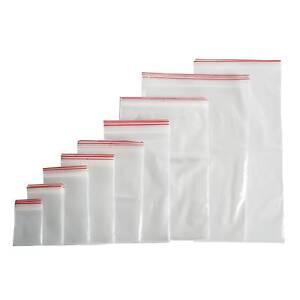 Druckverschlußbeutel ZIP Beutel Schnellverschluß Tüten Ab 100Stück 40 Größen