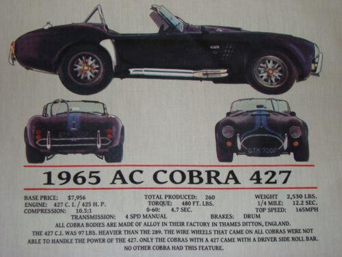 COBRA 427 SHELBY 1965 Short Sleeve