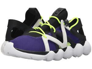 2f96a8942b49 NEW Y-3 Adidas Yohji Yamamoto Mens 11.5 Kyujo Low Sneakers Purple ...