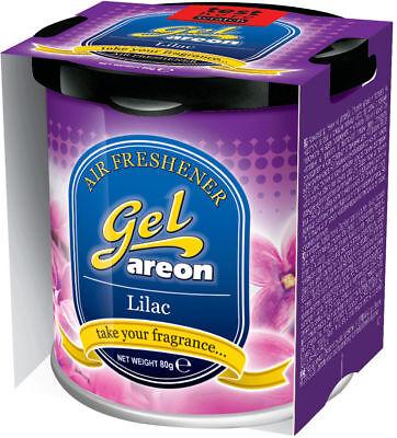 Attivo 2x Originale Areon Gel Can Auto Albero Profumato Deodoranti + Coperchio Lilla Prestazioni Superiori