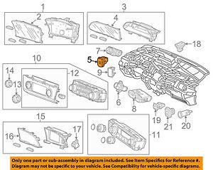 Honda Oem 2013 Civic Abs Anti Lock Brakes Switch 35300tr0a11 Ebay