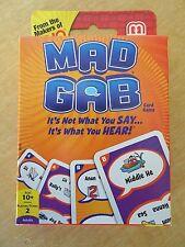 Mattel Games T5135 Mad GAB Picto-gabs Card Game