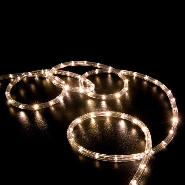 LED Rope Light 110V Lighting In Outdoor Xmas Christmas 10//20//25//50//100//150//300ft