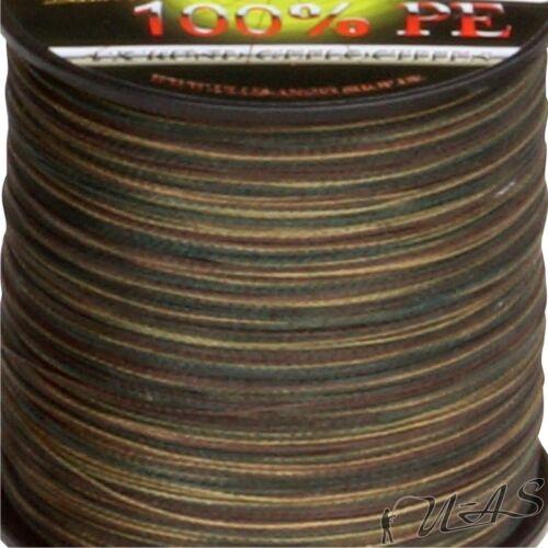 Deltex Titan Ultra Camou 0.15mm 9.10Kg 300M Geflochtene Angelschnur Schnur Sha