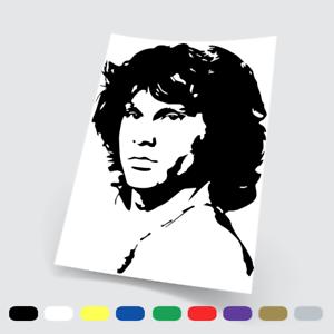 Adesivi in vinile Wall Stickers Prespaziati Jim Morrison 2 Notebook Parete Auto
