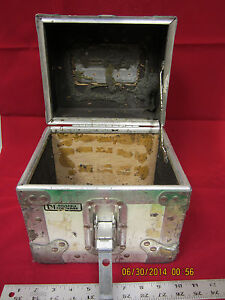 """Vintage A & J Reusable Cargo Storage Small Shipping Container used 9"""""""