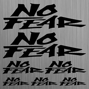 NO-FEAR-aufkleber-sticker-tuning-Motorrad-Auto-Motorcycle-Car-7-Stucke-Pieces