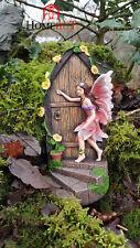 Large Fairy Door secret Garden Magical Ornament Pixie Elf  Figurine 19cm tall