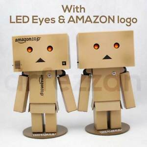 NEW-Revoltech-PLASTIC-Danbo-Mini-Kaiyodo-Danboard-Amazon-Japan-Box-LED-Light-Toy