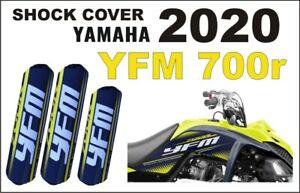 Stossdaempfer-Federbeinschuetzer-Quad-ATV-Shock-Covers-Yamaha-YFM-700R