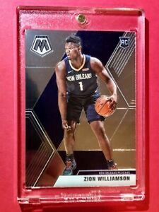 Zion-Williamson-PANINI-MOSAIC-HOT-ROOKIE-CARD-2019-20-RC-209-Mint