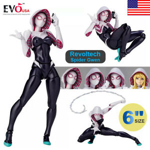 6-034-Revoltech-Series-No-004-Spider-Gwen-Amazing-Yamaguchi-Action-Figure-Toy-Gifts