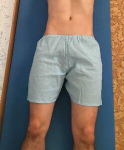 Russian USSR Soviet blue army vintage submarine naval underwear boxer shorts