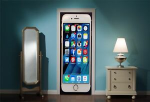 Door-Mural-Apple-i-Phone-View-Wall-Stickers-Decal-Wallpaper-272