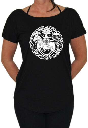 Odin Loose Girlie Thor Germanen Runen Wikinger Wacken Heavy Metal Viking Götter