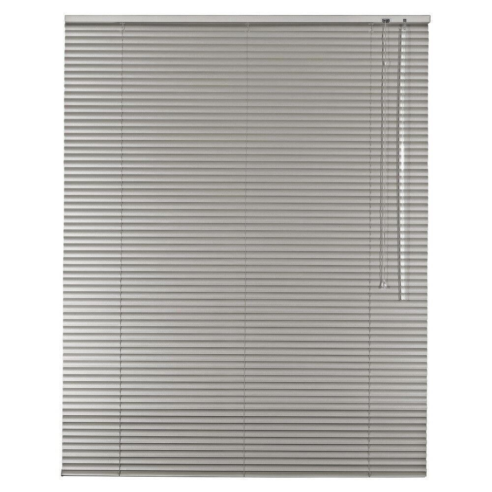 Aluminium Jalousie Alu Jalousette Jalusie Fenster Tür Rollo - Höhe 100 cm grau
