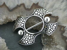 Piercing Nipple Shield Brustpiercing Drachen Dragon Drachenhaut Intimpiercing