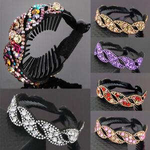Elegant Women Girls Hair Clip Crystal Claw Ponytail Bun Holder Comb Hairpin Gift