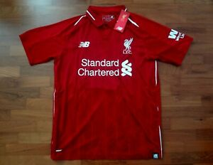 best loved f3f23 8aadc Details about 2018/19 Liverpool Red Home Jersey, Wijnaldum Nameset print  Small