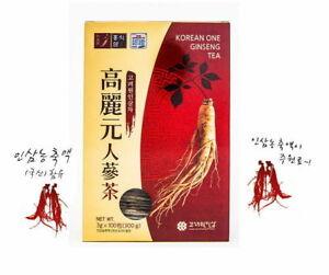 3g-x-100bags-Korean-Ginseng-Tea-Granule-Tea-Health-Food-Roots-Extract-IA