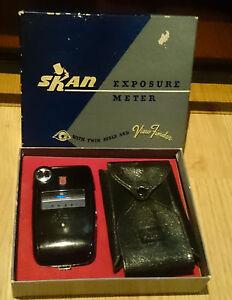 Vintage G-M Laboratories SKAN DE LUXE Exposure Meter