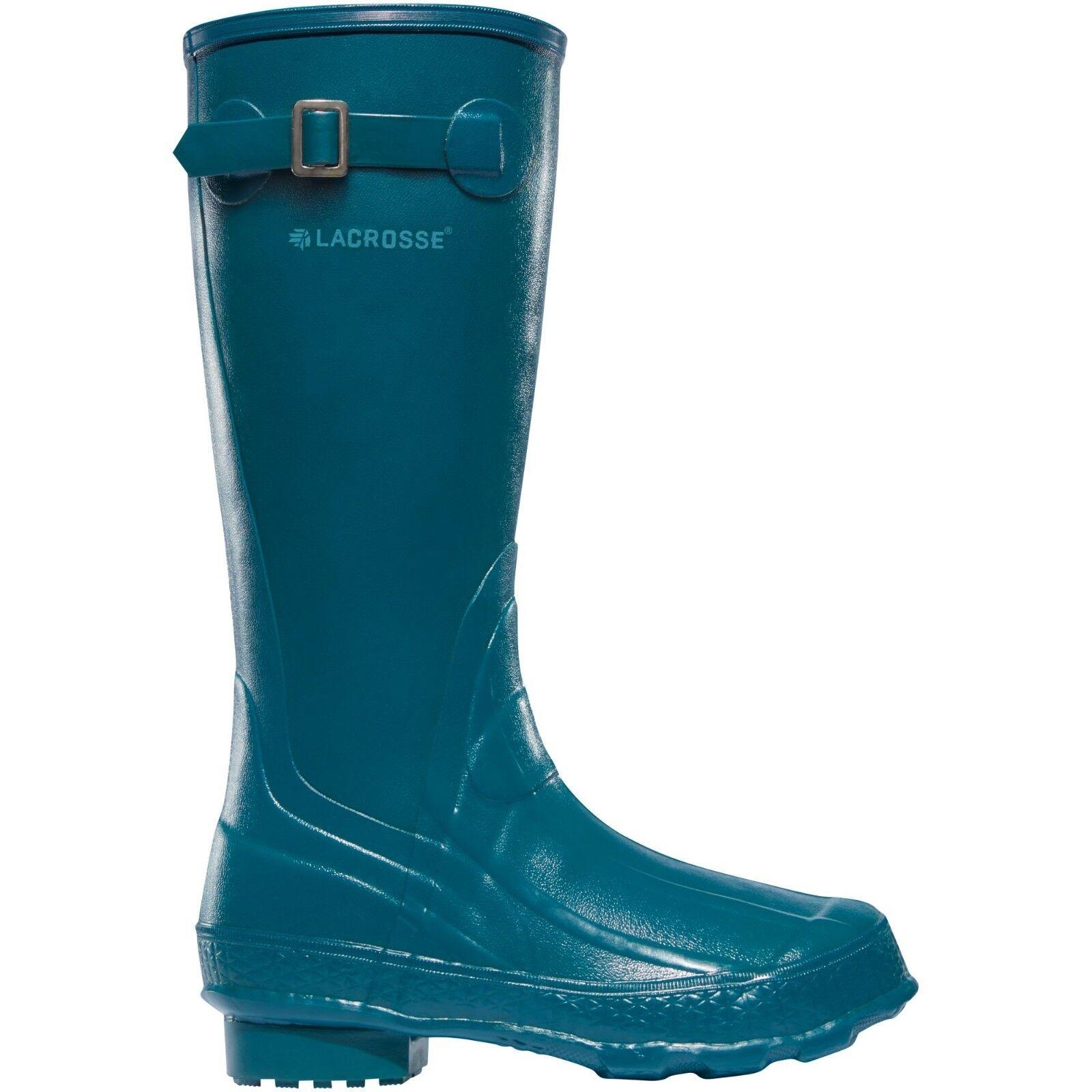 Lacrosse Women's Grange 14  Celestial bluee Rubber Work Boots US Sizes