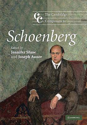 The Cambridge Companion to Schoenberg (Cambridge Companions to Music), , Good co
